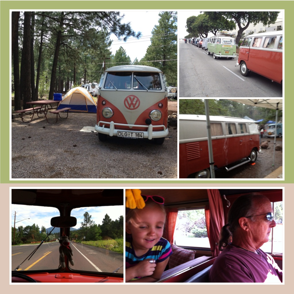 Fun in the '61 Westy